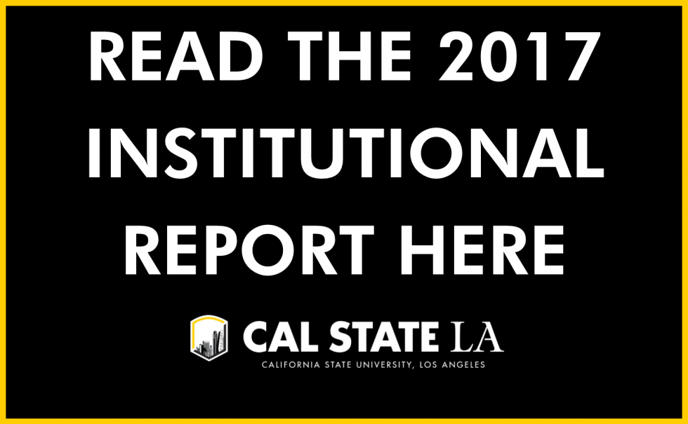 Read the 2017 Institutional Report Here button