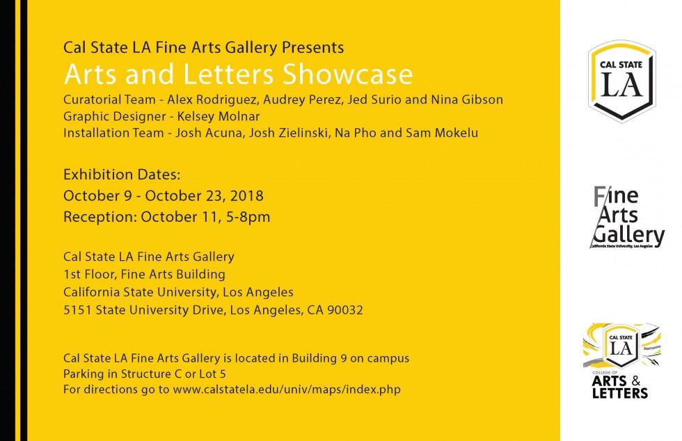 Cal State La Fine Arts Gallery Cal State La