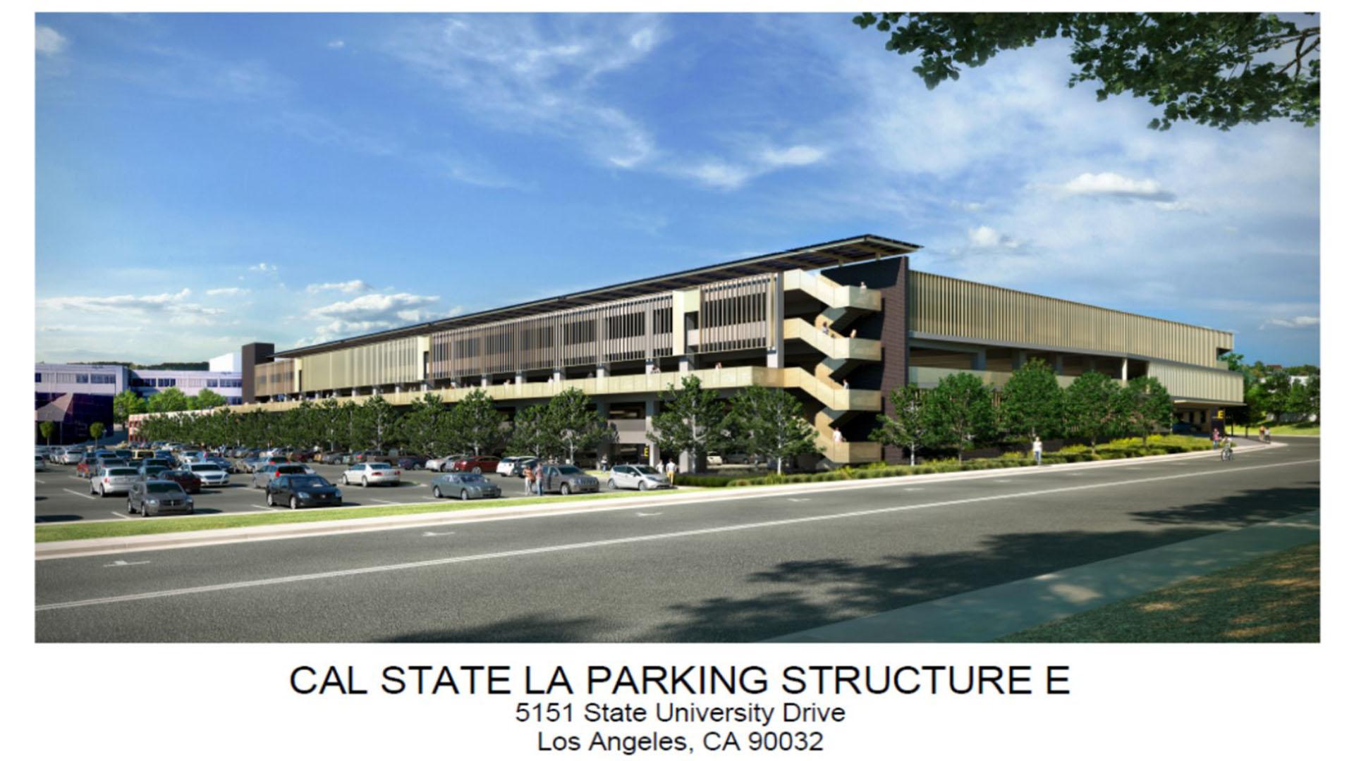 Parking Structure E